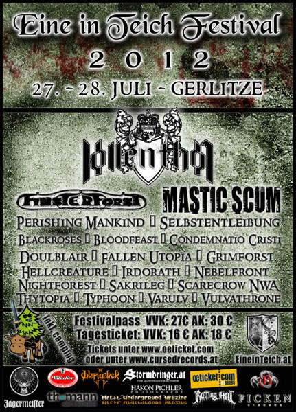 Eine in Teich 2011 Flyer